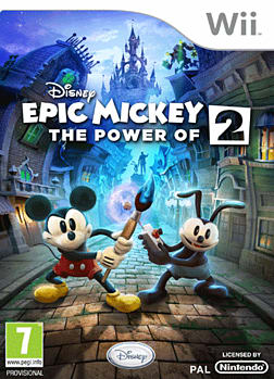 Disney Epic Mickey 2: The Power of Two Wii Cover Art