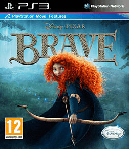 Disney Pixar's Brave PlayStation 3 Cover Art