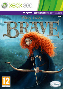 Disney Pixar's Brave Xbox 360 Cover Art