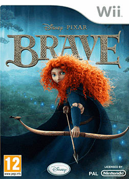 Disney Pixar's Brave Wii Cover Art