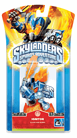 Skylanders: Character - Ignitor Toys and Gadgets