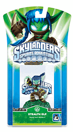 Skylanders: Character - Stealth Elf Toys and Gadgets 