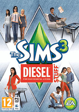 The Sims 3: Diesel Stuff Pack PC Games Cover Art