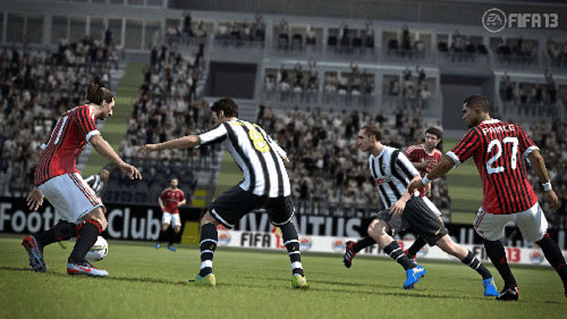 First Touch Control and other new features of FIFA 13 on Xbox 360, PlayStation 3, PC, PS Vita, PS2, Wii and 3DS at GAME