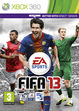 FIFA 13 (Kinect Compatible) Xbox 360 Cover Art