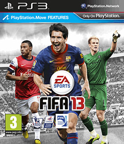 FIFA 13 PlayStation 3 Cover Art