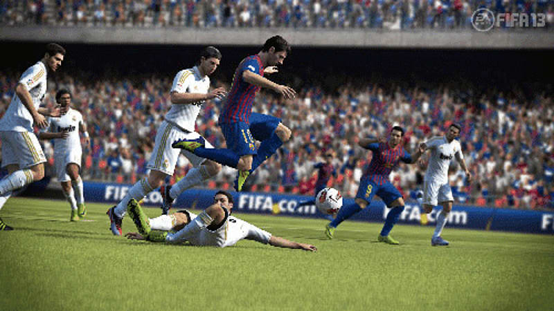 First Touch Control brings player skill to FIFA 13 at GAME
