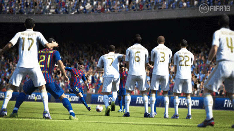Tactical Free Kicks in FIFA 13 at GAME