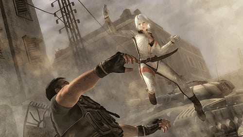 Fast paced beat em up action in DOA5 on PS3 and Xbox360