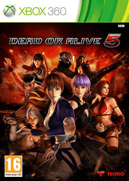 Dead or Alive 5 Xbox 360 Cover Art