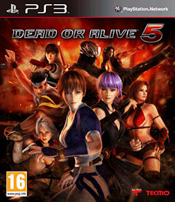 Dead or Alive 5 PlayStation 3 Cover Art