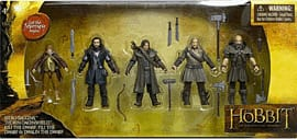 The Hobbit 3.75 inch Action Figure 5-Pack Toys and Gadgets