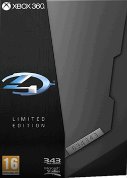 Halo 4 Limited Edition Xbox 360 Cover Art