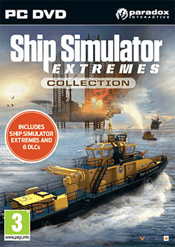 Ship Simulator Extremes pack PC Games Cover Art