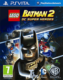 LEGO Batman 2 DC Super Heroes PS Vita Cover Art