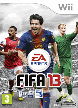 FIFA 13 Wii Cover Art
