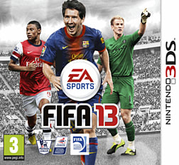 FIFA 13 3DS Cover Art