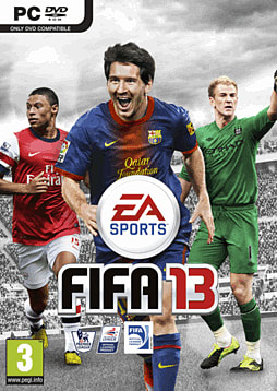 FIFA 13 PC Cover Art