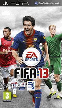 FIFA 13 PSP Cover Art