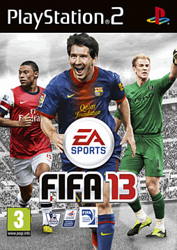 FIFA 13 PlayStation 2 Cover Art