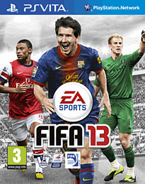 FIFA 13 PS Vita Cover Art