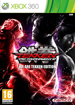 Tekken Tag Tournament 2: We are Tekken Edition - Only at GAME Xbox 360 Cover Art
