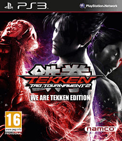 Tekken Tag Tournament 2: We are Tekken Edition PlayStation 3 Cover Art