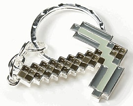 Minecraft Pickaxe Keychain Gifts