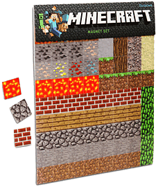 Minecraft Magnet Set Toys and Gadgets 
