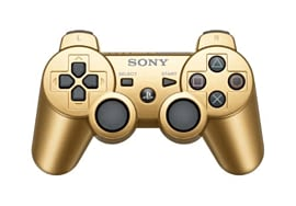 DualShock 3 Wireless Controller - Gold Accessories 