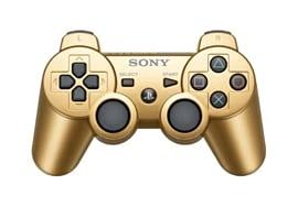 DualShock 3 Wireless Controller - Gold Accessories