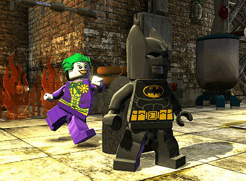 Stop the Joker and other villains in open-world gameplay in LEGO Batman 2 at GAME