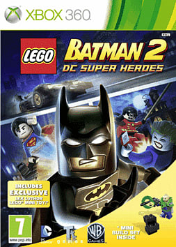 LEGO Batman 2 with Lex Luthor Mini-Toy Xbox 360 Cover Art
