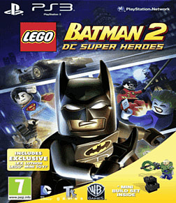 LEGO Batman 2 with Lex Luthor Mini-Toy PlayStation 3 Cover Art