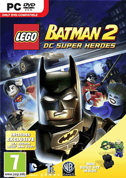 LEGO Batman 2 with Lex Luthor Mini-Toy PC Games Cover Art