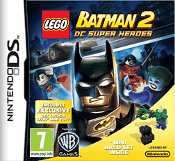 LEGO Batman 2 with Lex Luthor Mini-Toy DSi and DS Lite Cover Art