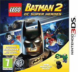LEGO Batman 2 with Lex Luthor Mini-Toy 3DS Cover Art