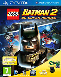 LEGO Batman 2 PS Vita Cover Art