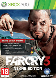 Far Cry 3 Insane Edition XB 360 Cover Art