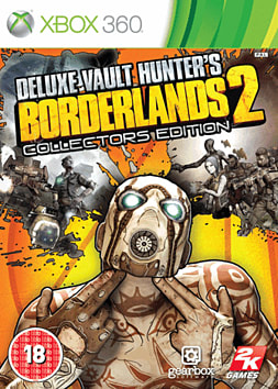 Borderlands 2: Vault Hunter's Edition Xbox 360 Cover Art
