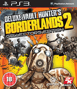 Borderlands 2: Vault Hunter's Edition PlayStation 3 Cover Art