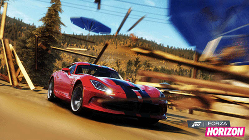 Open road, open world in Forza Horizon on Xbox 360 at GAME