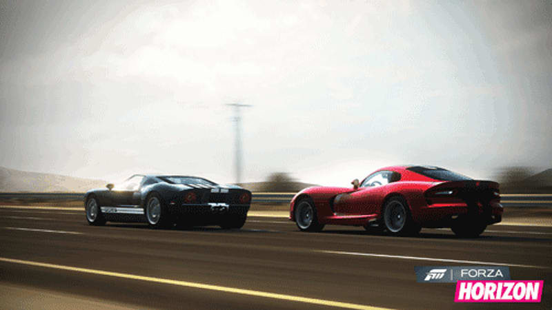 Preview racing simulation in Forza Horizon on Xbox 360 at GAME