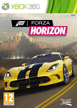 Forza Horizon Xbox 360 Cover Art