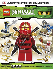 Lego Ninjago Ultimate Sticker Book Toys and Gadgets Cover Art