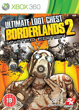 Borderlands 2 Ultimate Loot Chest Xbox 360 Cover Art