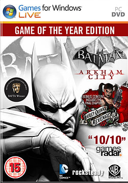 Batman: Arkham City Game of the Year Edition PC Games Cover Art