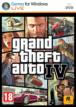 Grand Theft Auto IV PC Games Cover Art