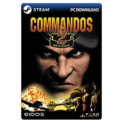 Commandos 2: Men of Courage PC Games Cover Art