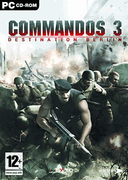 Commandos 3: Destination Berlin PC Games Cover Art